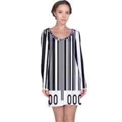 Code Data Digital Register Long Sleeve Nightdress