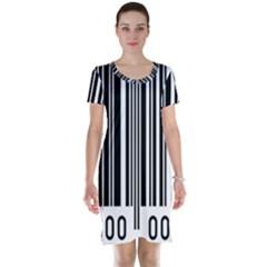 Code Data Digital Register Short Sleeve Nightdress