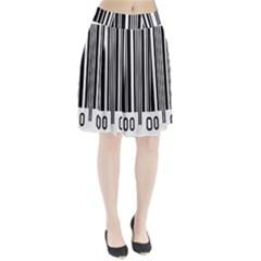 Code Data Digital Register Pleated Skirt