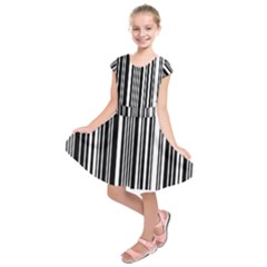 Code Data Digital Register Kids  Short Sleeve Dress