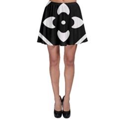 Pattern Background Skater Skirt