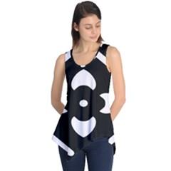Pattern Background Sleeveless Tunic