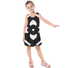 Pattern Background Kids  Sleeveless Dress
