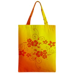 Flowers Floral Design Flora Yellow Classic Tote Bag