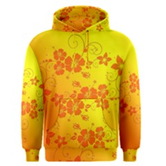 Flowers Floral Design Flora Yellow Men s Pullover Hoodie