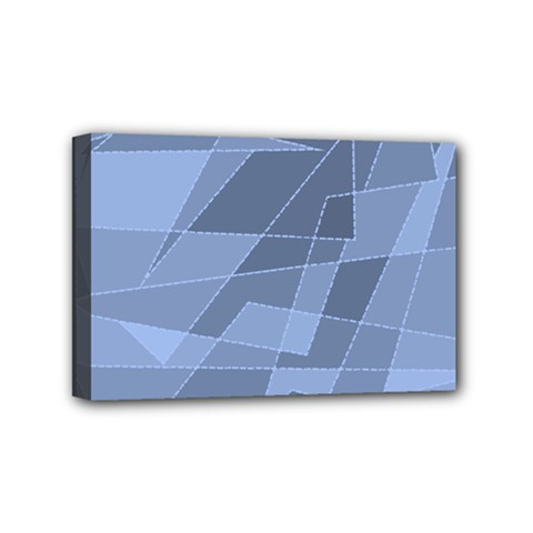 Lines Shapes Pattern Web Creative Mini Canvas 6  X 4