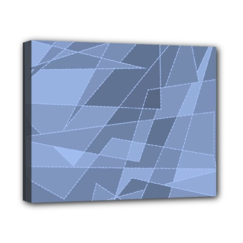 Lines Shapes Pattern Web Creative Canvas 10  x 8