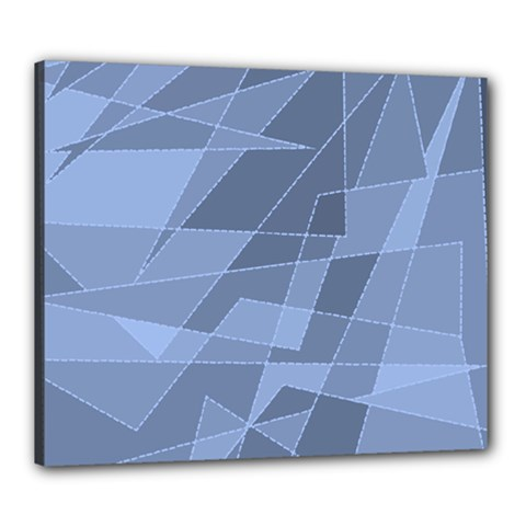 Lines Shapes Pattern Web Creative Canvas 24  X 20