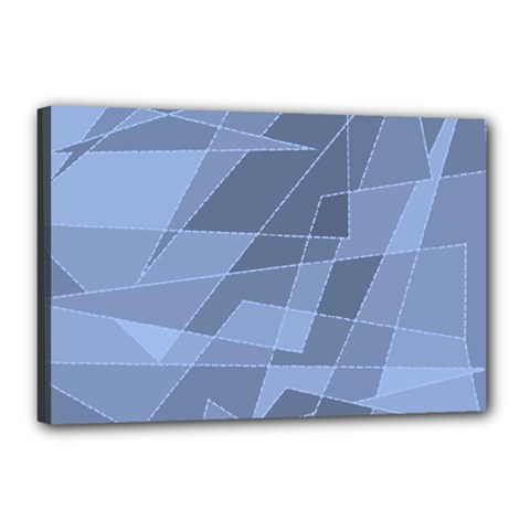 Lines Shapes Pattern Web Creative Canvas 18  X 12