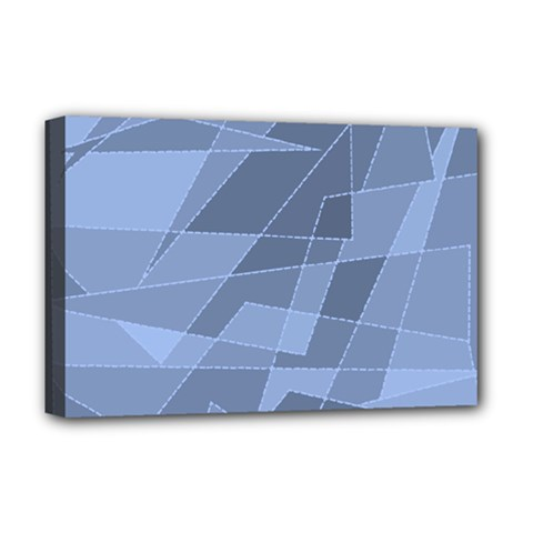 Lines Shapes Pattern Web Creative Deluxe Canvas 18  X 12