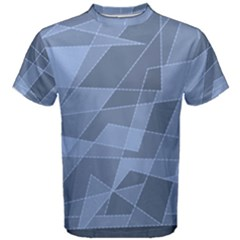 Lines Shapes Pattern Web Creative Men s Cotton Tee
