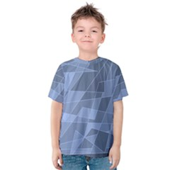 Lines Shapes Pattern Web Creative Kids  Cotton Tee