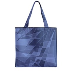 Lines Shapes Pattern Web Creative Grocery Tote Bag