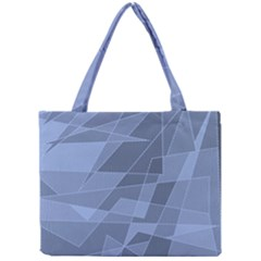 Lines Shapes Pattern Web Creative Mini Tote Bag