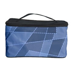 Lines Shapes Pattern Web Creative Cosmetic Storage Case