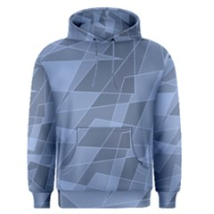 Lines Shapes Pattern Web Creative Men s Pullover Hoodie