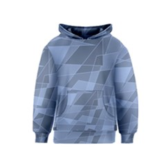 Lines Shapes Pattern Web Creative Kids  Pullover Hoodie