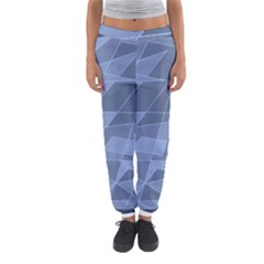 Lines Shapes Pattern Web Creative Women s Jogger Sweatpants