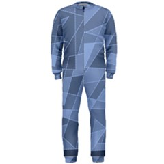 Lines Shapes Pattern Web Creative Onepiece Jumpsuit (men)