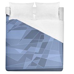 Lines Shapes Pattern Web Creative Duvet Cover (queen Size)