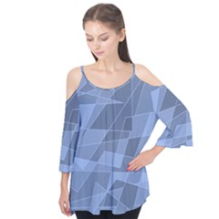 Lines Shapes Pattern Web Creative Flutter Tees