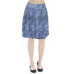 Lines Shapes Pattern Web Creative Pleated Skirt
