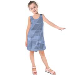 Lines Shapes Pattern Web Creative Kids  Sleeveless Dress
