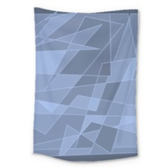 Lines Shapes Pattern Web Creative Large Tapestry