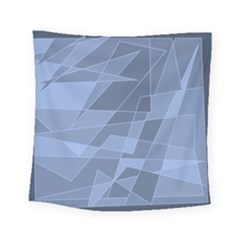 Lines Shapes Pattern Web Creative Square Tapestry (small)