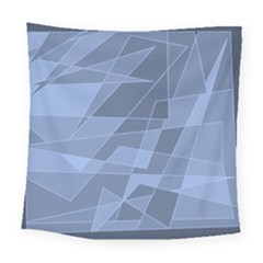 Lines Shapes Pattern Web Creative Square Tapestry (large)