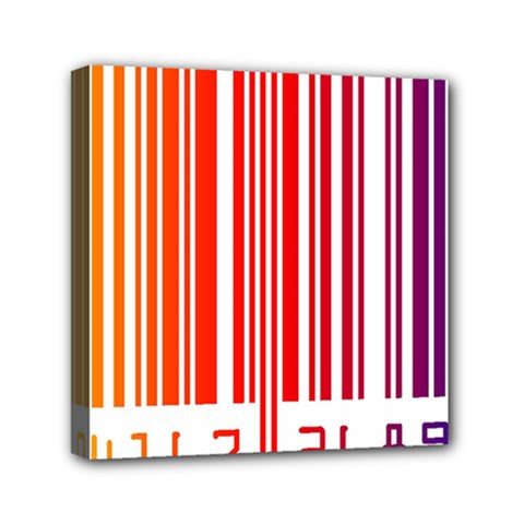 Code Data Digital Register Mini Canvas 6  X 6