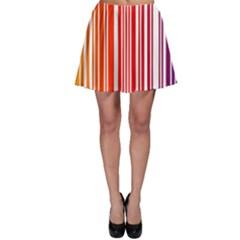 Code Data Digital Register Skater Skirt