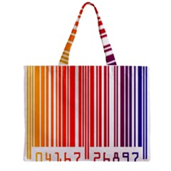 Code Data Digital Register Zipper Mini Tote Bag