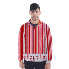 Code Data Digital Register Wind Breaker (men)
