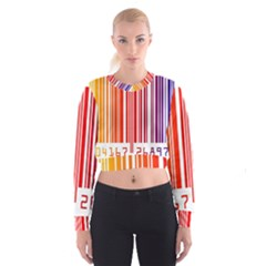 Code Data Digital Register Women s Cropped Sweatshirt
