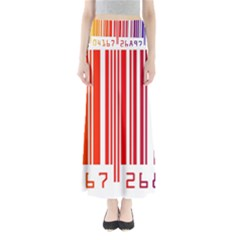 Code Data Digital Register Maxi Skirts