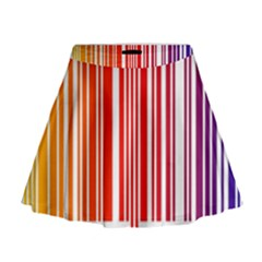 Code Data Digital Register Mini Flare Skirt