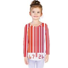Code Data Digital Register Kids  Long Sleeve Tee