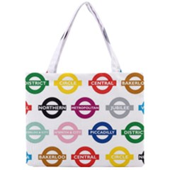 Underground Signs Tube Signs Mini Tote Bag