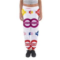 Underground Signs Tube Signs Women s Jogger Sweatpants