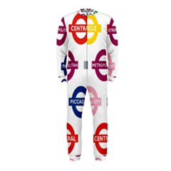Underground Signs Tube Signs Onepiece Jumpsuit (kids)