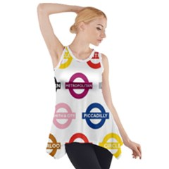 Underground Signs Tube Signs Side Drop Tank Tunic