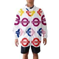 Underground Signs Tube Signs Wind Breaker (Kids)