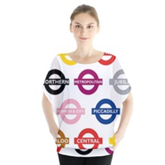Underground Signs Tube Signs Blouse
