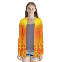 Flowers Floral Design Flora Yellow Cardigans