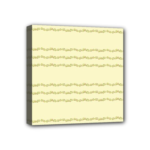 Background Pattern Lines Mini Canvas 4  X 4