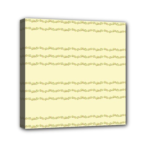 Background Pattern Lines Mini Canvas 6  X 6