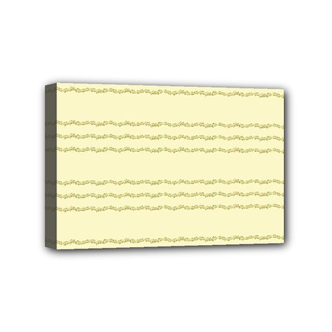 Background Pattern Lines Mini Canvas 6  X 4
