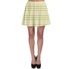 Background Pattern Lines Skater Skirt
