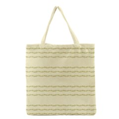 Background Pattern Lines Grocery Tote Bag
